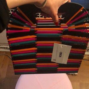 ASOS Bags - Multicolor wooden bag